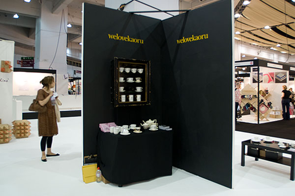 welovekaoru exhibtion stand at PULSE